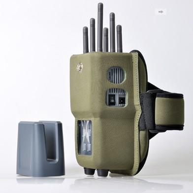 como activar mi ubicacion en mi celular - In-One Jammers Inhibidor portátil del teléfono celular del GSM UMTS LTE4G  WiFi del en-uno portátil